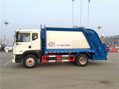 Picture of Dongfeng D9 10 square compressed garbage truck