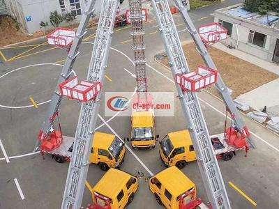 江铃32米云梯高空作业车图片