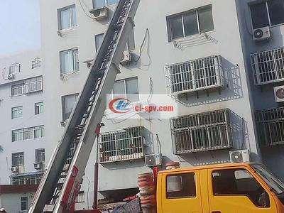 江铃28米云梯高空作业车图片