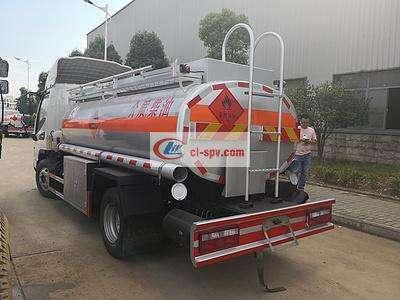 江淮骏铃5吨加油车图片