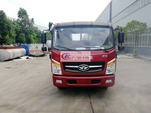 Tang Jun Blue Flatbed Transport Truck Picture