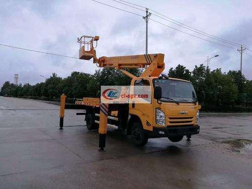 Picture of JMC 18m Telescopic Boom Aerial Operating Truck