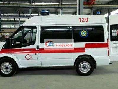 福特救护车江铃福特V362救护车图片