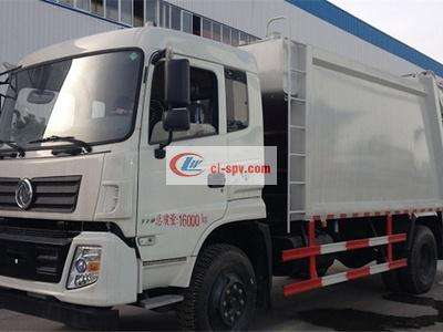 Dongfeng 12方压缩式垃圾车图片