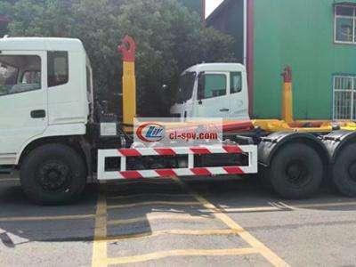 东风专用25吨拉臂式垃圾车图片