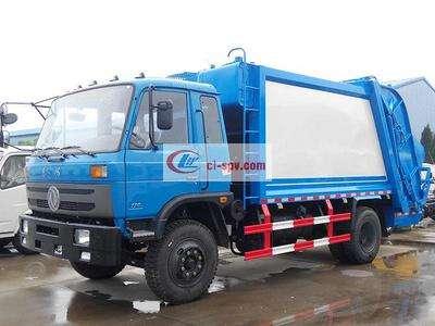 东风145压缩式垃圾车图片
