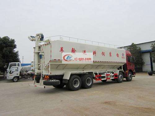 Picture of Foton Auman's front four and eight bulk feed trucks