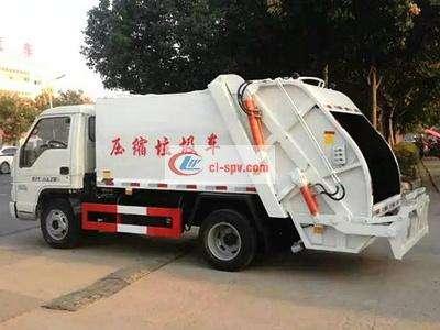 福田时代3吨压缩式垃圾车图片