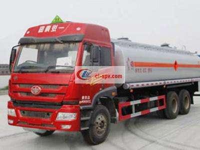解放捍威20吨油罐车图片
