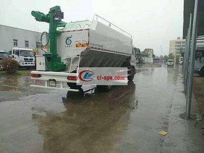 东风天锦液压散装饲料运输车图片