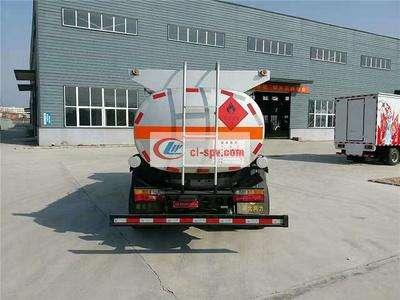 大运8吨油罐车图片