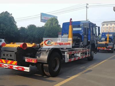 重汽20吨勾臂式垃圾车图片