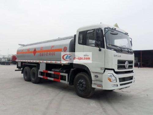 Picture of Dongfeng Tianlonghou double-bridge chemical liquid transport truck