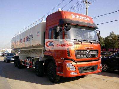20吨东风天龙散装饲料车图片