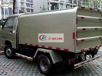 长沙福田7方挂桶垃圾车图片
