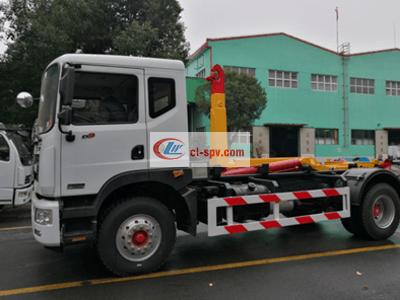 东风多利卡16吨勾臂垃圾车图片