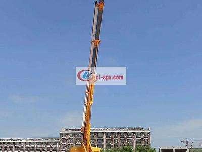 东风28米伸缩臂高空作业车图片