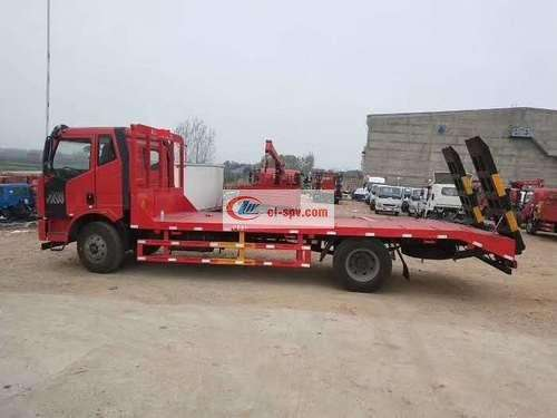 Jiefang J6 Flatbed Transport Truck Picture