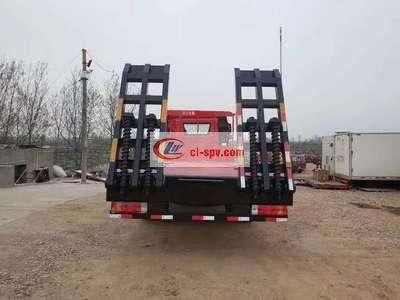 解放J6平板运输车图片