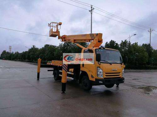 Picture of Jiangling 20m Telescopic Boom Aerial Operating Truck