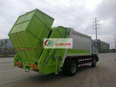 东风多利卡10吨压缩式垃圾车图片