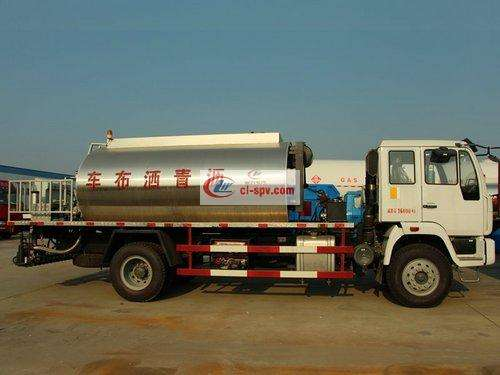 Heavy Duty Truck 8 Tons Asphalt Distributor Picture