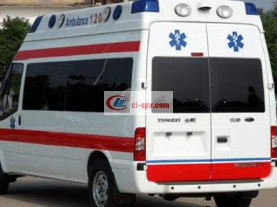 福特V348长轴高顶救护车图片