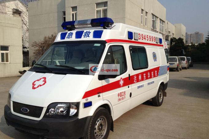 福特V348长轴高顶救护车 (3)