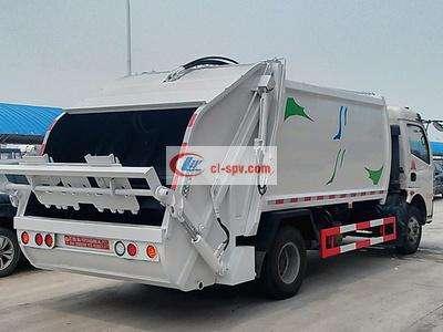 东风多利卡7吨压缩垃圾车图片