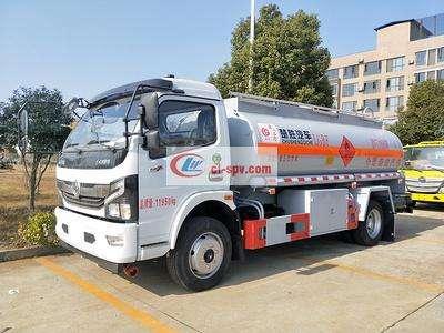 国六东风凯普特8方加油车图片