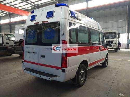 Ford ambulance new generation (short axle) ambulance picture
