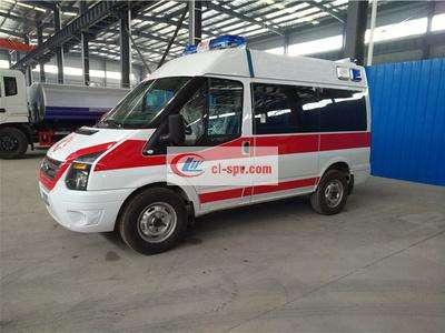 福特救护车新世代(短轴)救护车图片