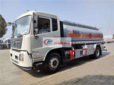国六东风天锦碳钢罐10吨油罐车图片