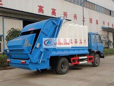 东风10方压缩垃圾车图片