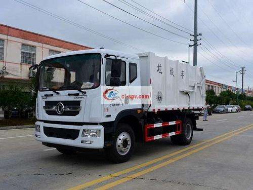Picture of Dongfeng D9 Dolica Compression Docking 15-18 Square Garbage Truck