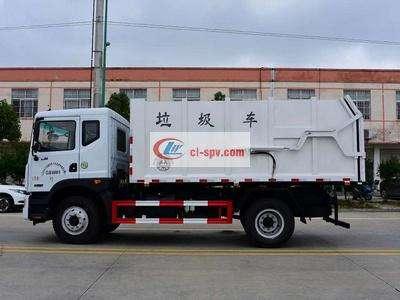 东风D9多利卡压缩式对接15-18方垃圾车图片