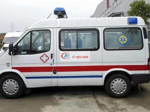 صورة سيارة إسعاف فورد Jiangling Special Shun (المحور القصير) سياره اسعاف