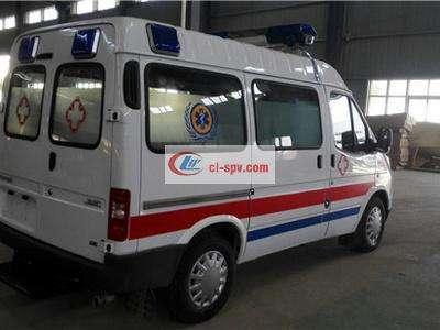 福特救护车 江铃牌特顺(短轴)救护车图片