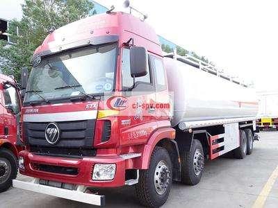 福田欧曼20吨21吨油罐车图片