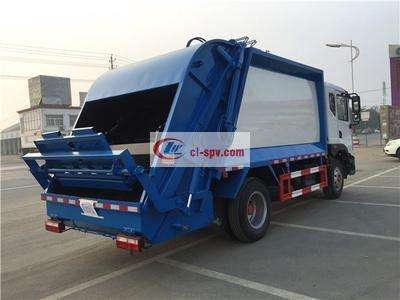 东风D912方压缩式垃圾车图片