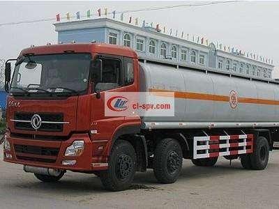 东风天龙前双后单化工液体运输车图片