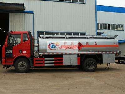 解放j615吨油罐车图片