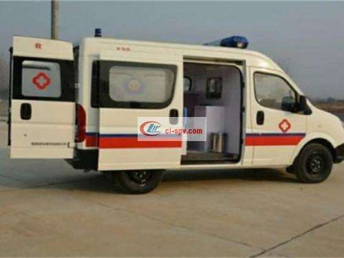 Dongfeng Yufeng Medical Examination Vehicle Picture