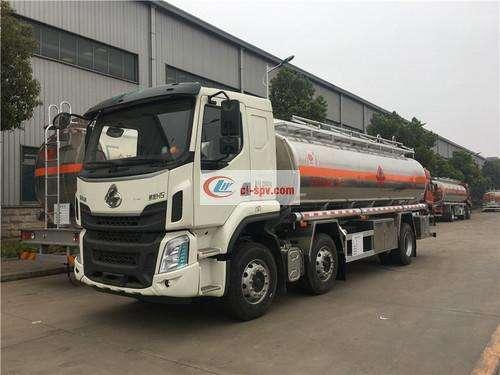 Picture of Liuqi small three-axle 20.2-24 square aluminum alloy fuel truck