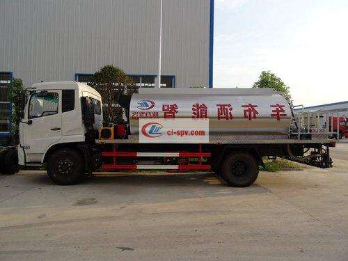 Dongfeng Tianjin 10-square asphalt distributor picture