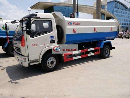 Dongfeng Duolika Hook Arm Garbage Truck Picture