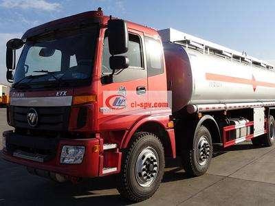 欧曼小三轴18吨20吨油罐车图片