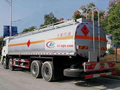 陕汽德龙M3000前四后八20吨油罐车图片