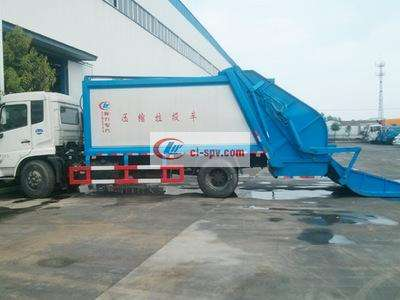 解放J6  12吨压缩式垃圾车图片