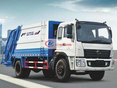 福田康瑞12吨压缩垃圾车图片